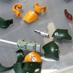 ボバ・フェット作製メモNo.6  細部塗装+デカール貼り