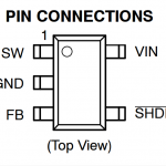 【M-10480】 10LEDドライバ昇圧式コンバーターモジュール