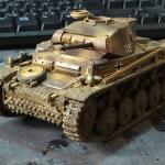ドイツ2号戦車を作ってみた