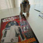 デアゴ R2-D2 組立記 Episode 002 [2号 右脚部に油圧ピストン構成パーツを取り付ける]