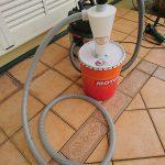 ペール缶の活用 その1 サイクロン集塵機を作った
